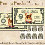 Bunny Bucks - Federal Reserve Note - Eight Pack
