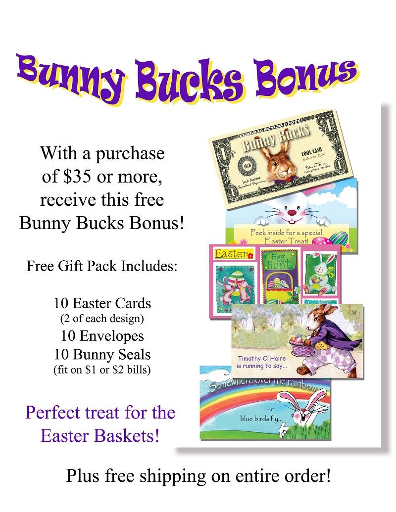Santa dollars 2016 bunny bucks bonus website give a way 1 27 16 negle Images