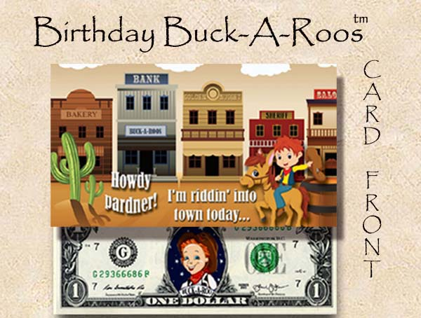 Birthday Buck A Roos #2 Eight Pack