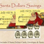 Santa Dollars - Jolly Old St. Nick - 8 pack