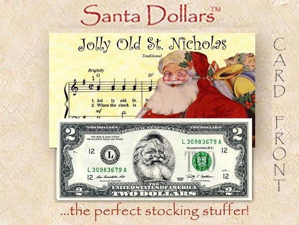 2016 SANTA 2 DOLLAR