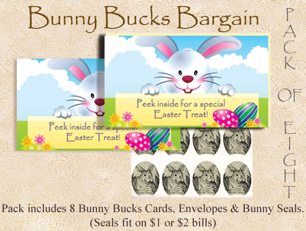 2014 Bunny Bucks - Eight Pack