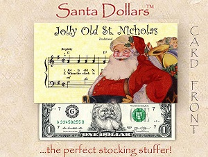 Santa Dollars - Jolly Old St. Nick - Bulk Pack of 100