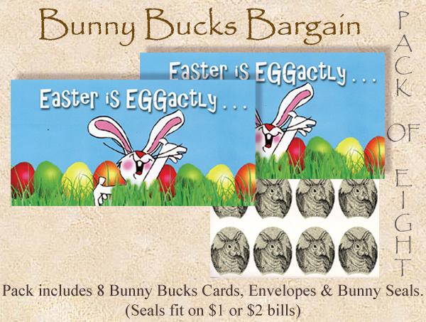 2017 Bunny Bucks - 8 Pack