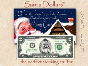 Santa $2 - Up on the Housetop