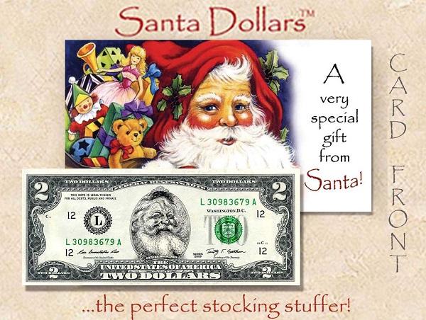 Santa $2 - A Gift From Santa