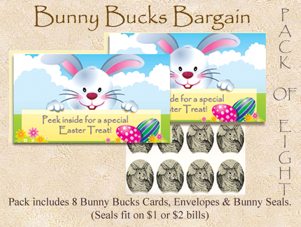 Bunny Bucks - Easter Treat - Eight Pack